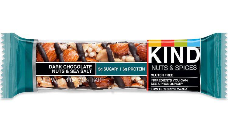 KD KIND BARS 12/1.4oz DARK CHOCOLATE NUTS & SEA SALT