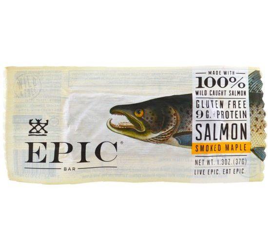 EP NEW EPIC BAR 12/1.5oz MAPLE SMOKED SALMON