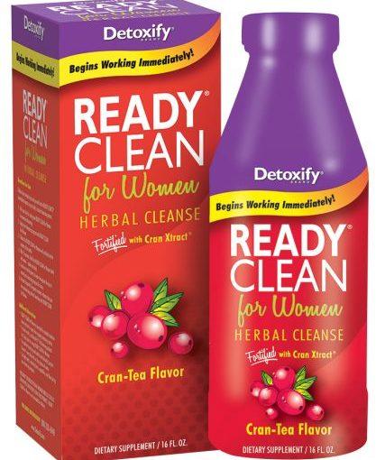 DTX READY CLEAN WOMEN 16oz CRAN-TEA