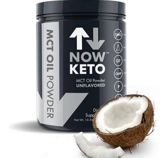 NK NOW KETO MCT POWDER 30srv UNFLAVORED