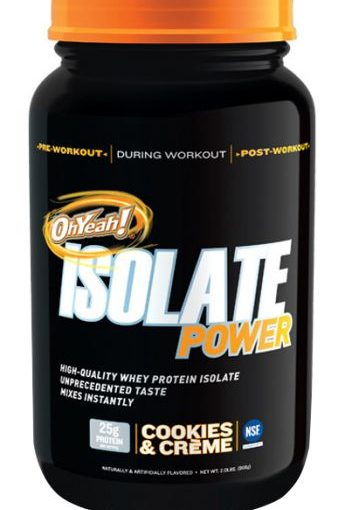 ISS OH YEAH! WHEY ISOLATE 2lb COOKIES & CREME