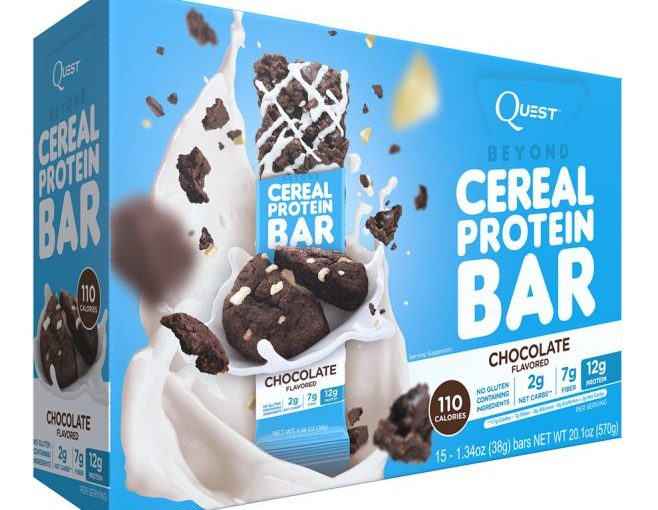 QUEST CEREAL BAR 15/1.34oz CHOCOLATE