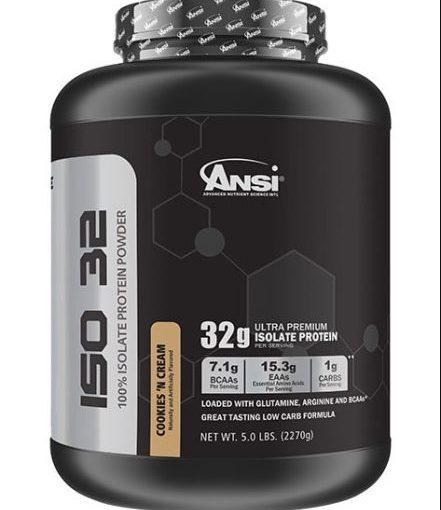 ANSI ISO 32 5lb COOKIES & CREAM