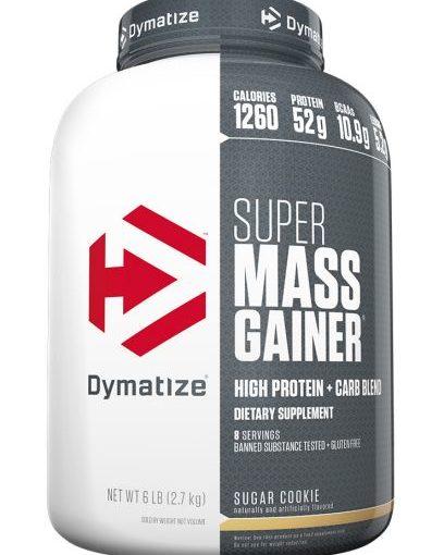DYM SUPER MASS GAINER 6LB SUGAR COOKIE