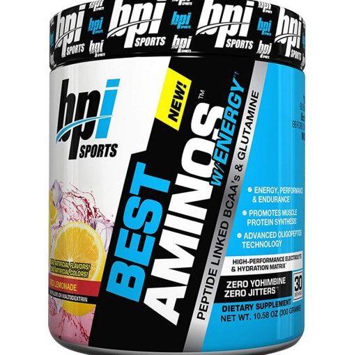 BPI BEST AMINO W/ENERGY 30srv RED LEMONADE