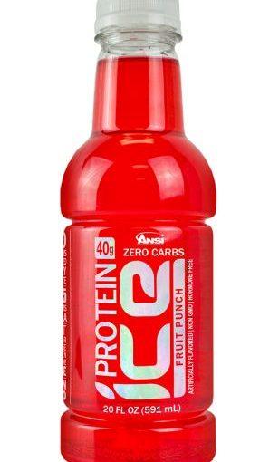 ANSI PROTEIN ICE 12/20oz FRUIT PUNCH