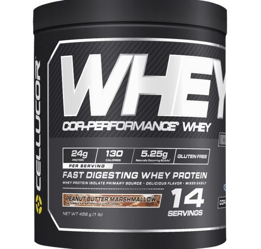 CE COR-PERF WHEY PROTEIN 1lb PEANUT BUTTER MARSHMALLOW NEW