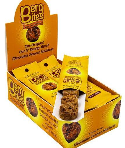 FFF BERG BITES 8/43g CHOCOLATE PEANUT MADNESS
