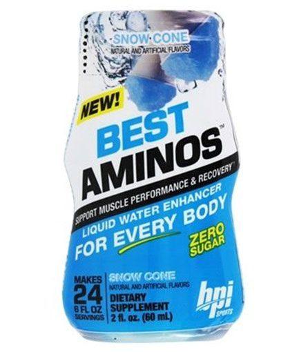 BPI BEST AMINOS 6/2oz SNOW CONE 24srv