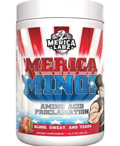 ML MERICA MINOS 1lb BLOOD,SWEAT & TEARS STRAWBERRY/WATERMELON/COCONUT 25 SERVINGS
