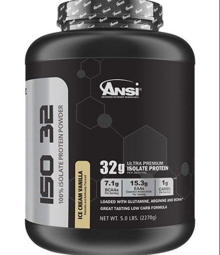 ANSI ISO 32 5lb ICE CREAM VANILLA