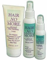 APX HAIR NO MORE KIT LARGE 1 CREAM, 1 SPRAY, AND 1 GEL ALL IN 1 BAG LARGE SIZE