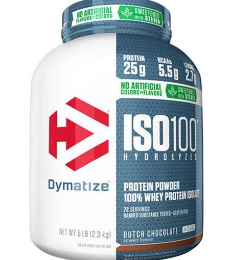 DYM ISO-100 NATURAL 5lb NATURAL CHOCOLATE