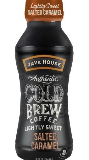 JH COLD BREW COFFEE 12/10oz SALTED CARAMEL