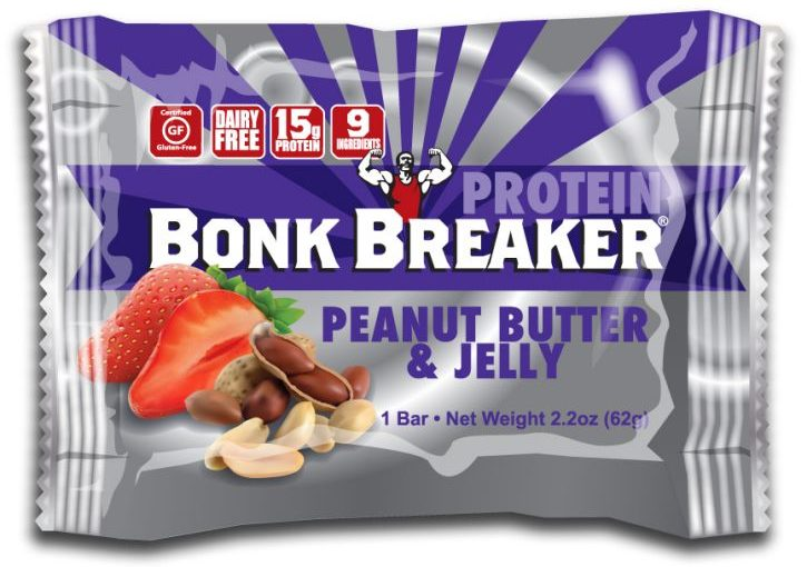 BKB PROTEIN BARS 12/2.2oz PEANUT BUTTER & JELLY