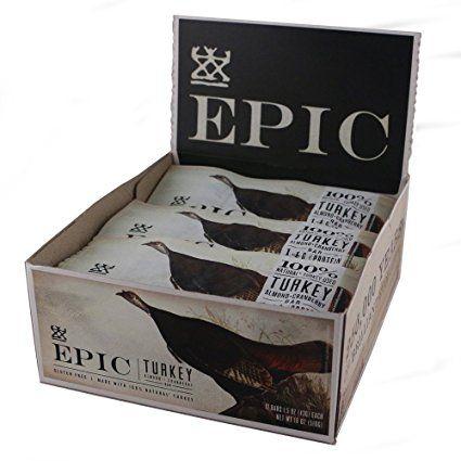 EP NEW EPIC BAR 12/1.5oz TURKEY ALMD CRANBERRY