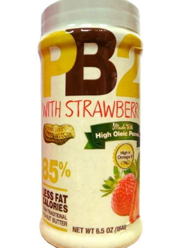 PBT PB2 WITH STRAWBERRY 6.5oz STRAWBERRY PEANUT BUTTER