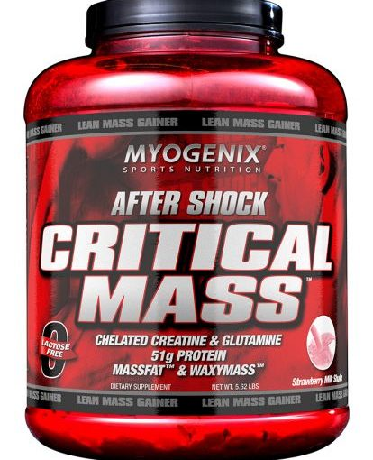 MY AFTERSHOCK CRITICAL 5.62lb STRAWBERRY 15 SERVINGS