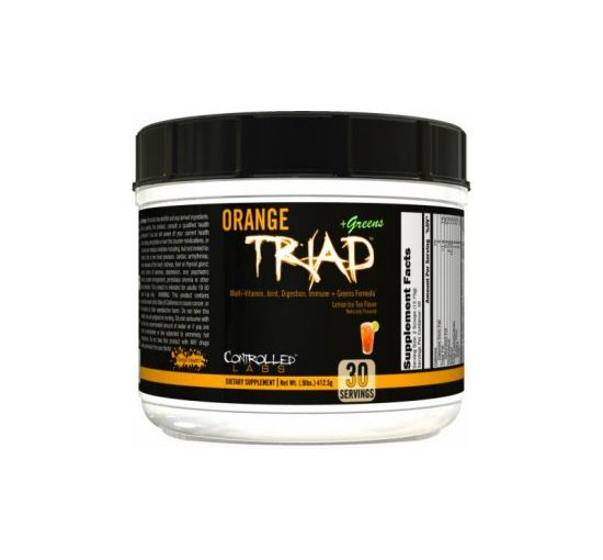 CNL ORANGE TRIAD + GREENS 30sv LEMON ICE TEA