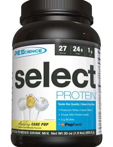 PES SELECT PROTEIN 27 2lb CAKE POP