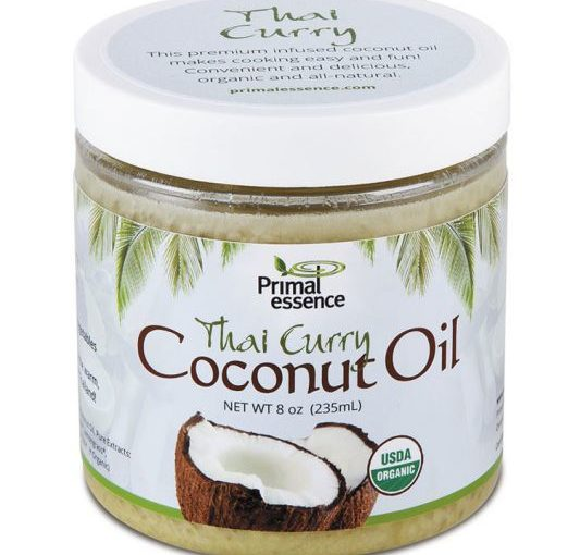 PE ORG COCONUT OIL 8oz INFUSED THAI CURRY