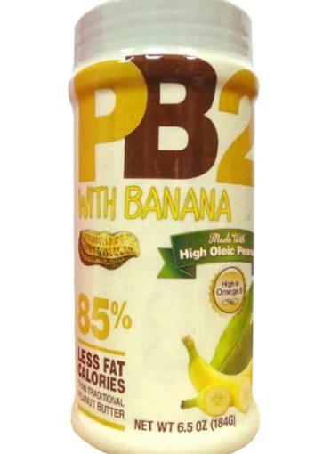 PBT PB2 WITH BANANA 6.5oz BANANA PEANUT BUTTER