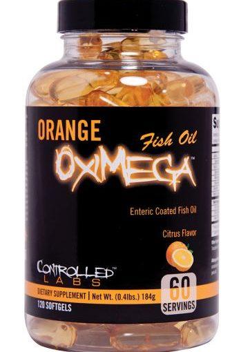 CNL OXIMEGA FISH OIL 120c ORANGE