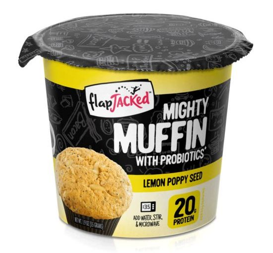 FJ MIGHTY MUFFIN CUP 55g LEMON POPPY SEED
