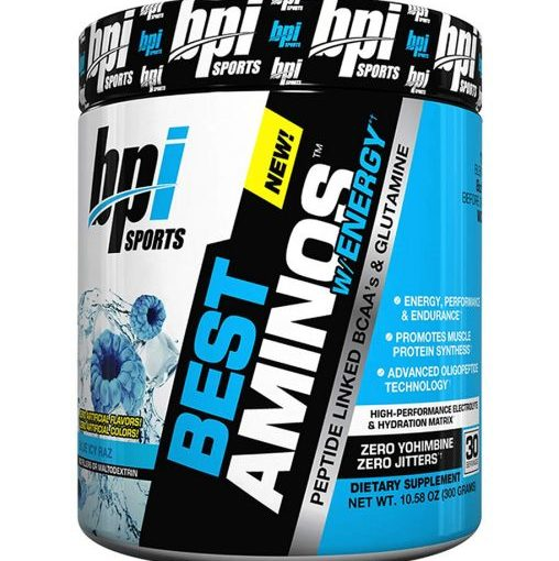 BPI BEST AMINO W/ENERGY 30srv BLUE ICY RAZ