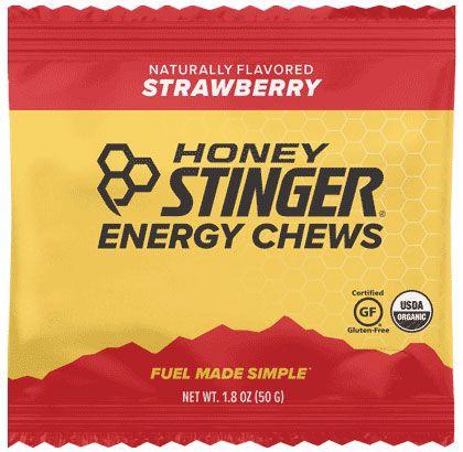 HS ORG ENERGY CHEWS 12/SL STRAWBERRY