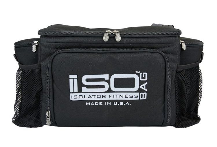 ISO ISOLATOR 2ND GEN 6 MEAL BLACK
