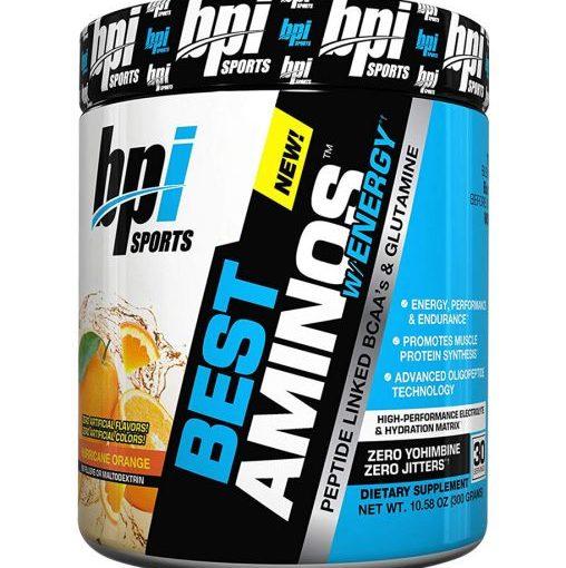 BPI BEST AMINO W/ENERGY 30srv HURRICANE ORANGE