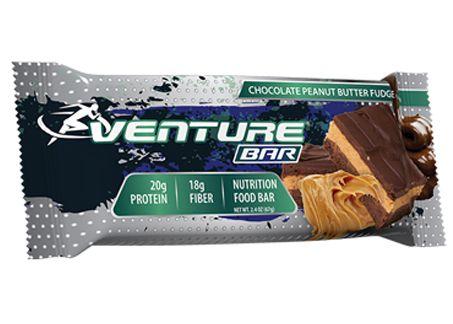 VB VENTURE BAR 12/65g CHOCOLATE PEANUT BUTTER FUDGE
