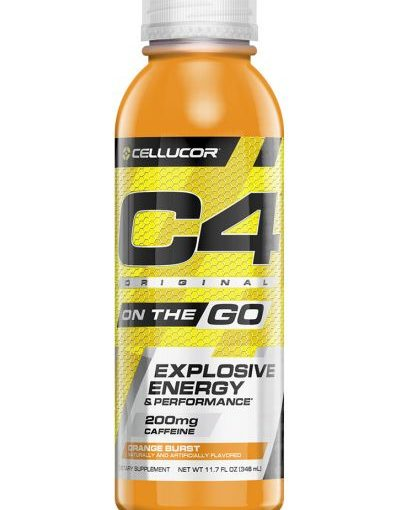 CE C4 ON THE GO RTD 12/12oz ORANGE BURST