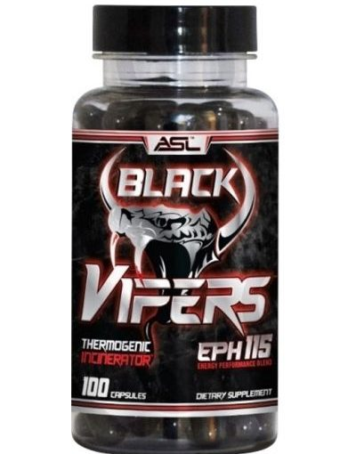 ASL BLACK VIPERS 100srv