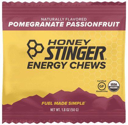 HS ORG ENERGY CHEWS 12/SL POMEGRANATE PASSION